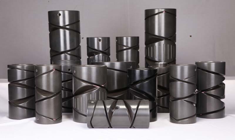 cone winding drum in metalic & backelite material